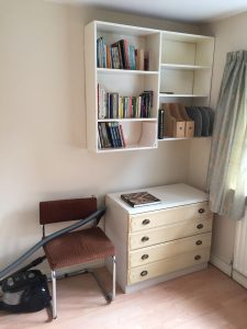 Double bedroom/office before