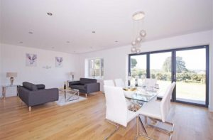 Open plan kitchen/diner/sitting room